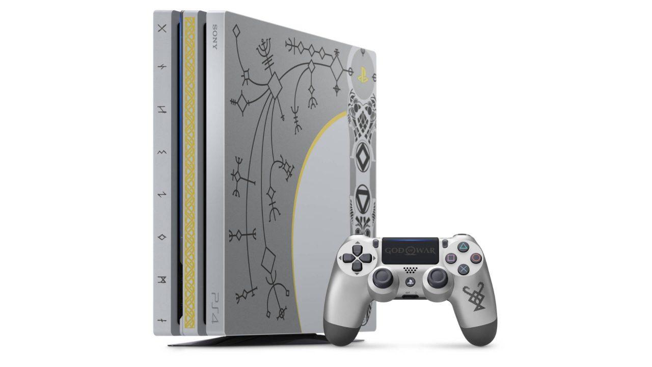 Une édition limitée de la PS4 Pro aux couleurs de God of War