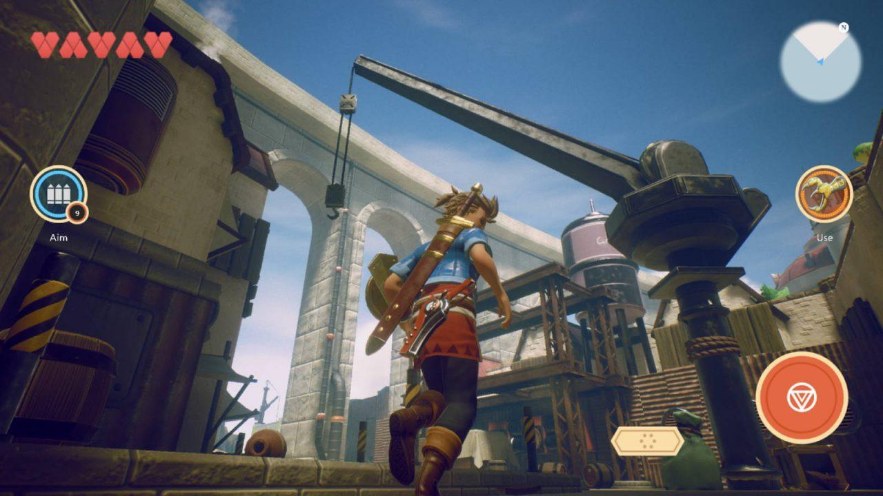 De nouvelles images d'Oceanhorn 2 Knights of the Lost Realm