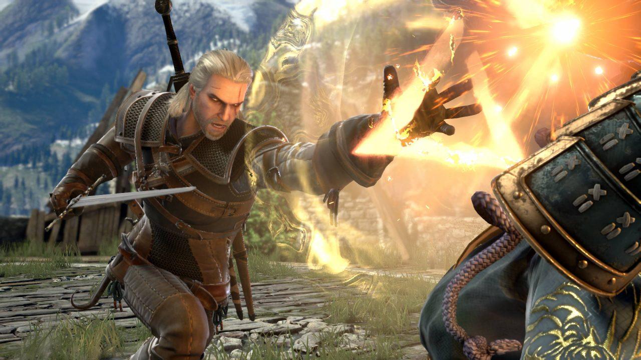 Geralt de The Witcher sera dans SoulCalibur VI