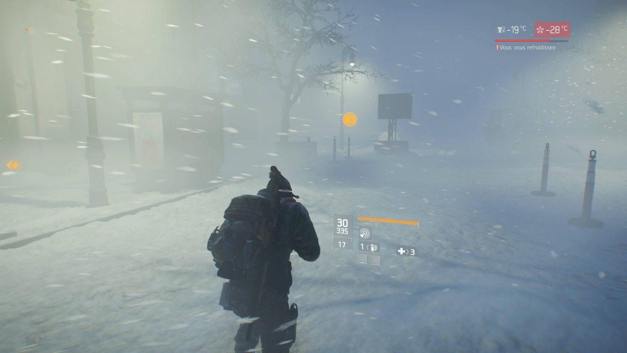 Impressions et vidéo du DLC Survie de Tom Clancy's The Division
