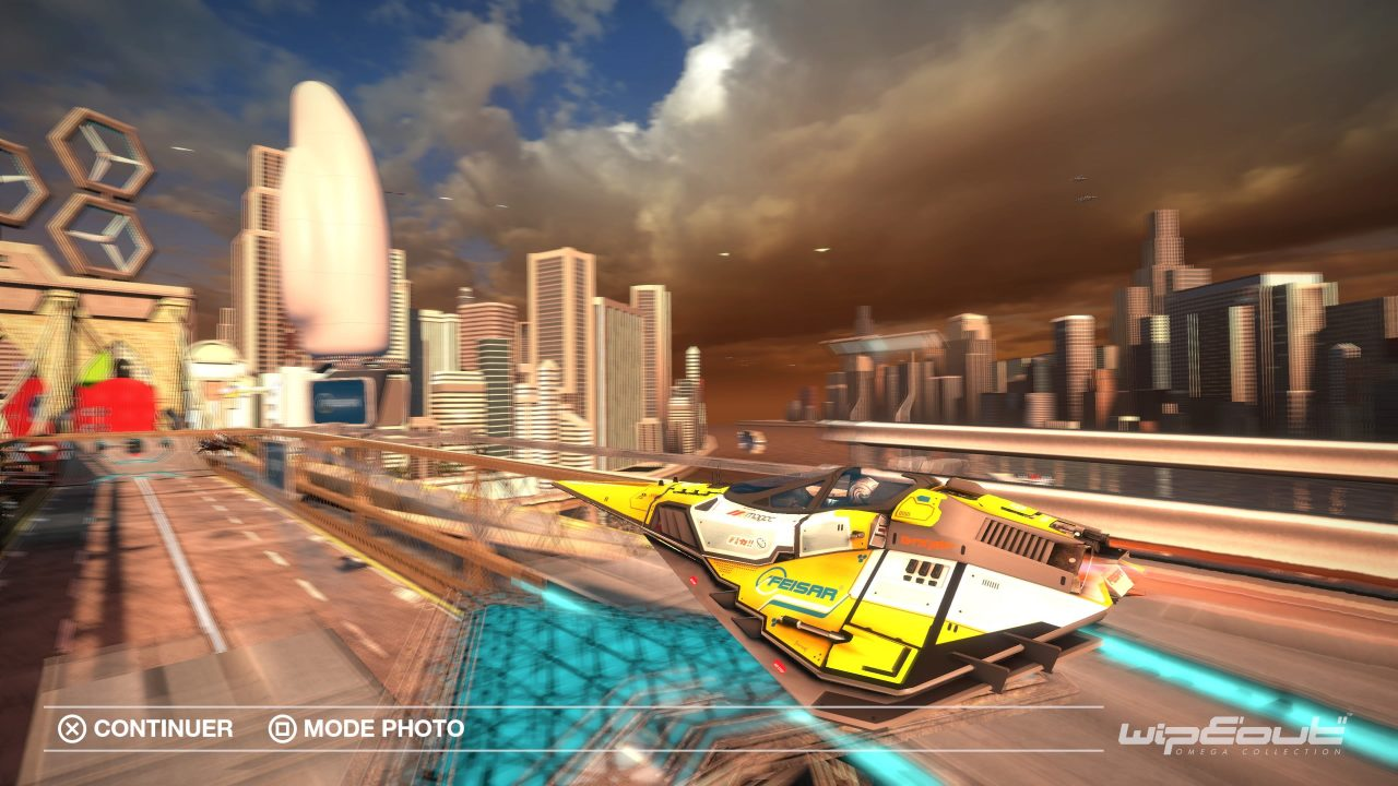 La mise à jour VR de Wipeout Omega Collection est disponible