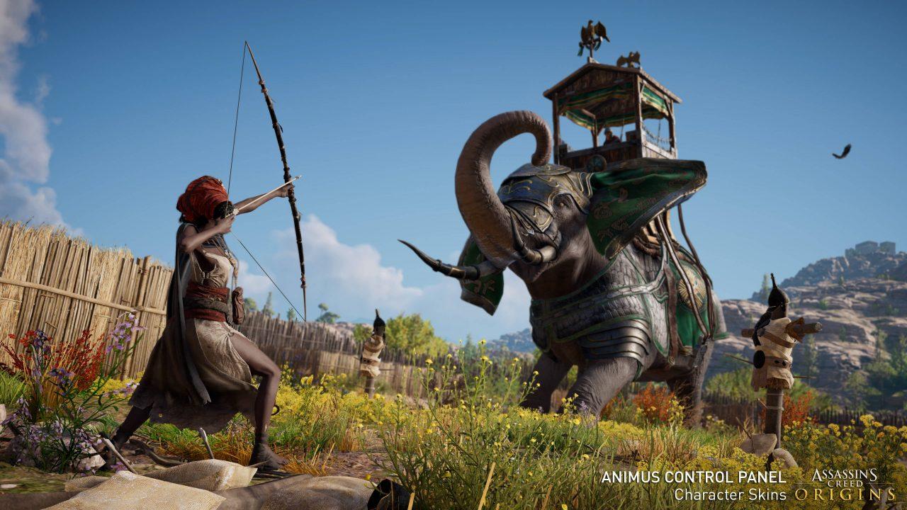 Ubisoft va vous laisser trafiquer des paramètres de son Assassin's Creed Origins