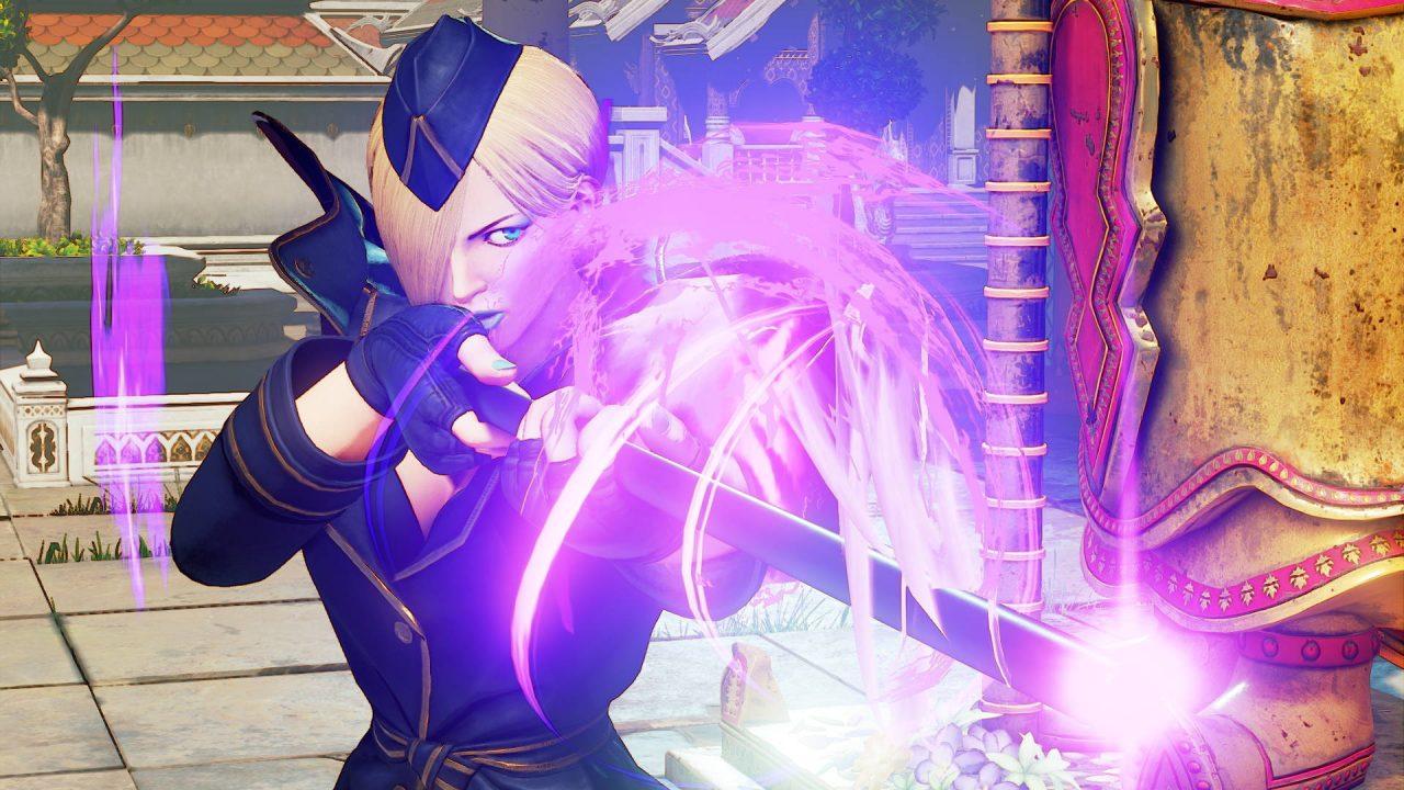Falke, la nouvelle combattante de Street Fighter V