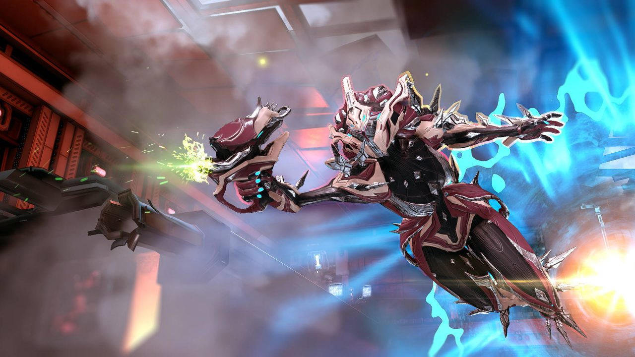 Nouvelle armure et nouveau mode de jeu pour Warframe