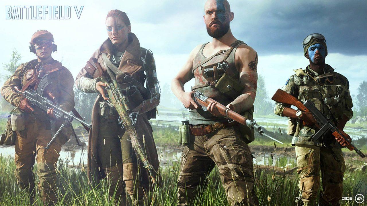 Battlefield V gratuit pour l'achat d'une carte graphique Nvidia GeForce RTX