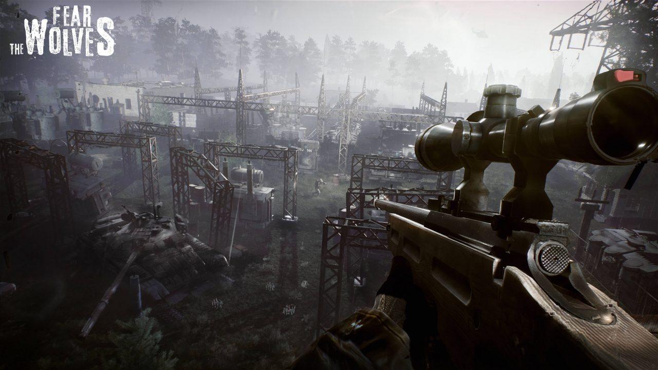 Un battle royale à Tchernobyl avec Fear the Wolves