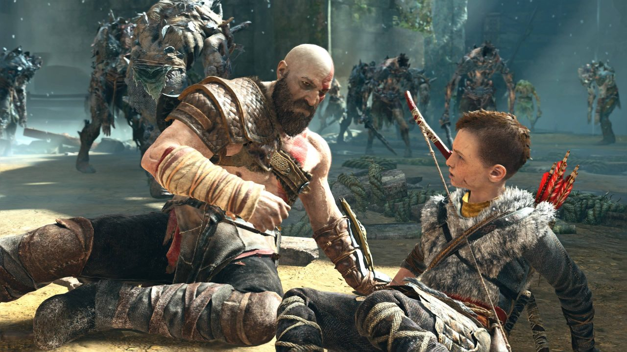 La mise à jour PS5 de God of War arrive demain