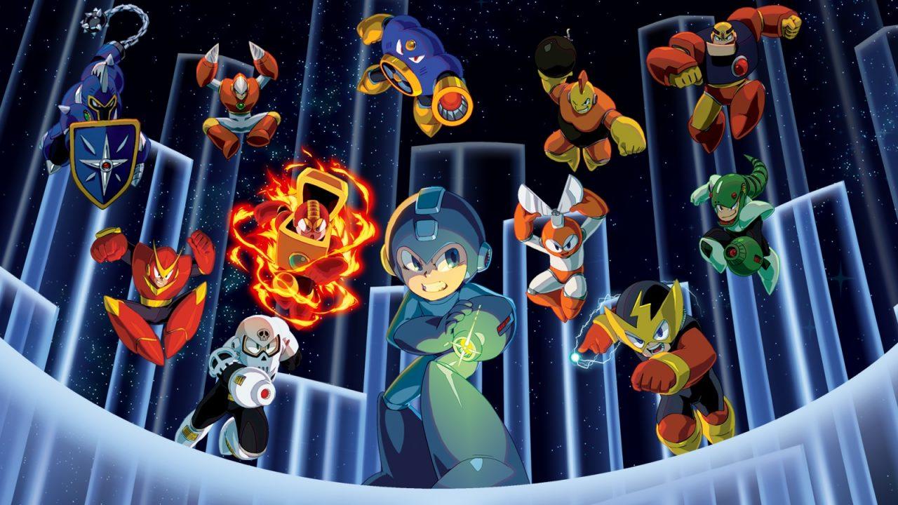 Des tas de Mega Man désormais disponible sur Switch