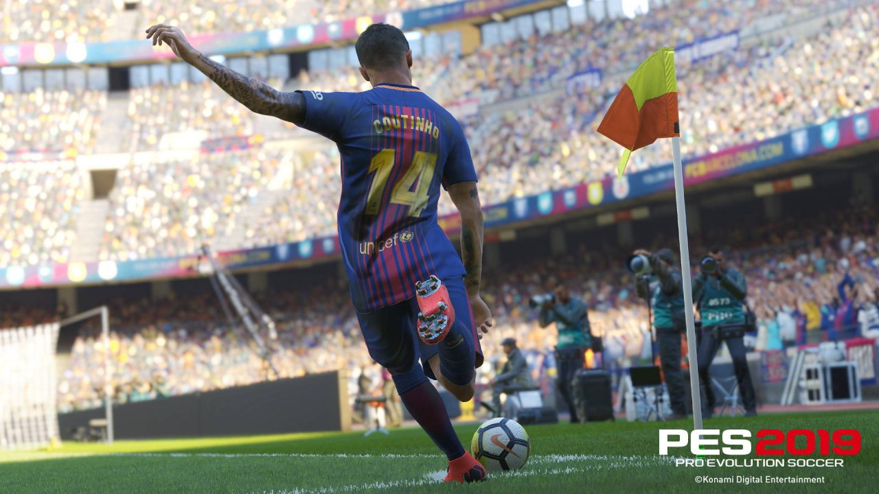 La démo de PES 2019 disponible !