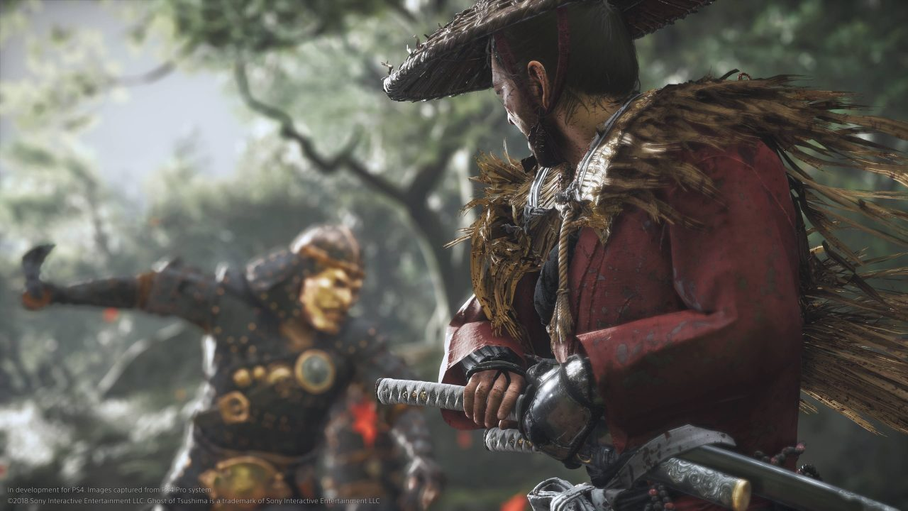 Sucker Punch montre le sublime Ghost of Tsushima pour la PS4