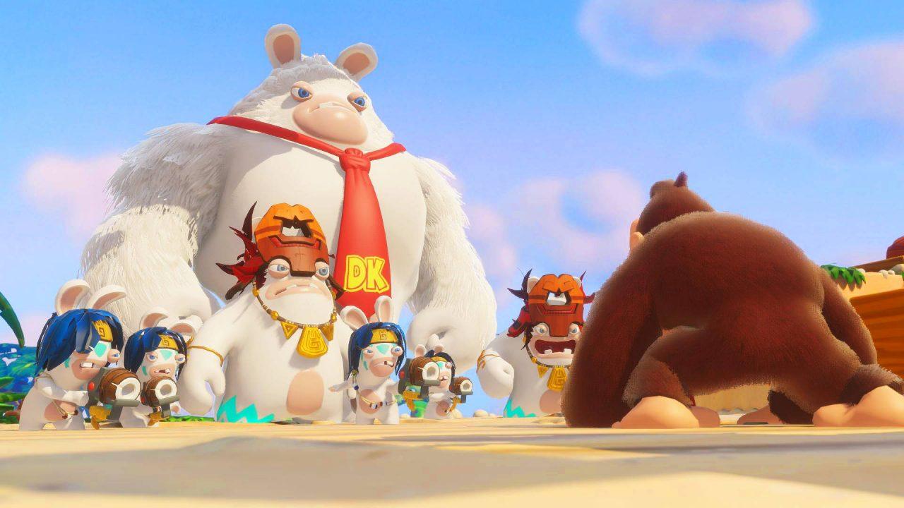 Donkey Kong arrivé sur Mario + The Lapins Crétins Kingdom Battle