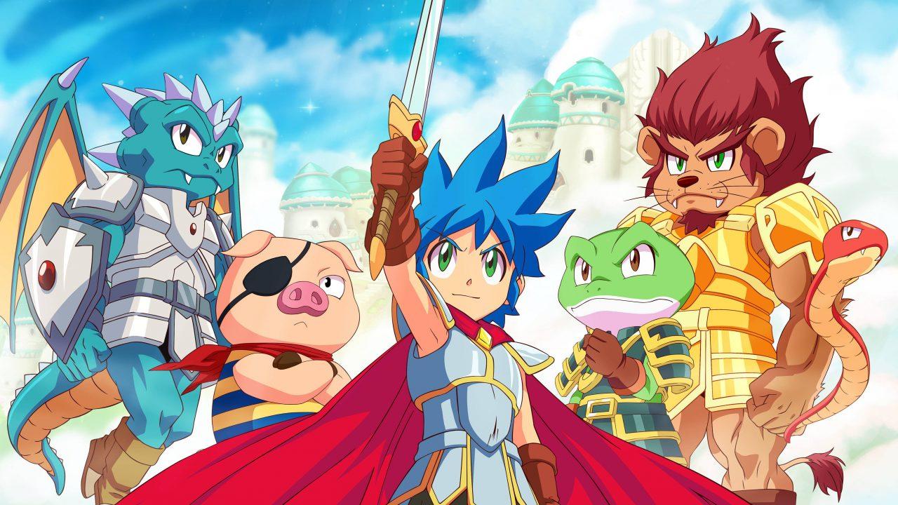 Après Wonder Boy, voici Monster Boy and the Cursed Kingdom
