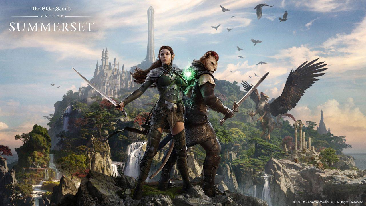 The Elder Scrolls Online Summerset disponible sur consoles
