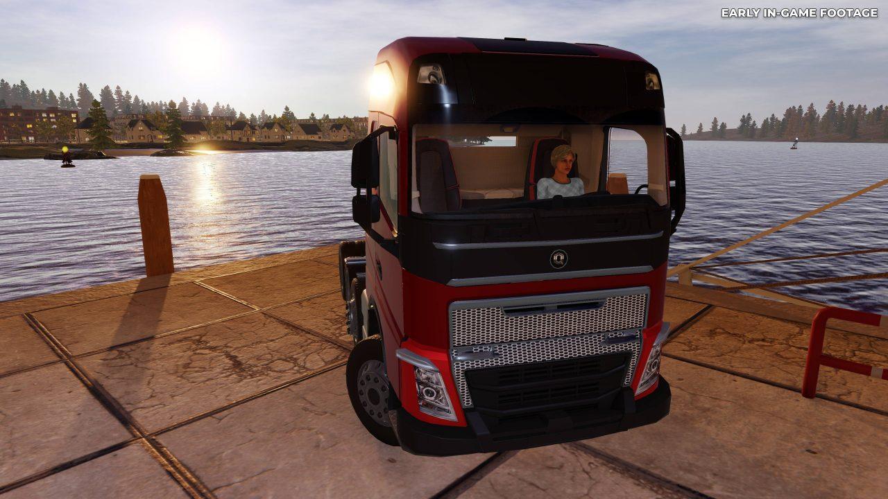 Pilotez des poids lourds avec Truck Driver