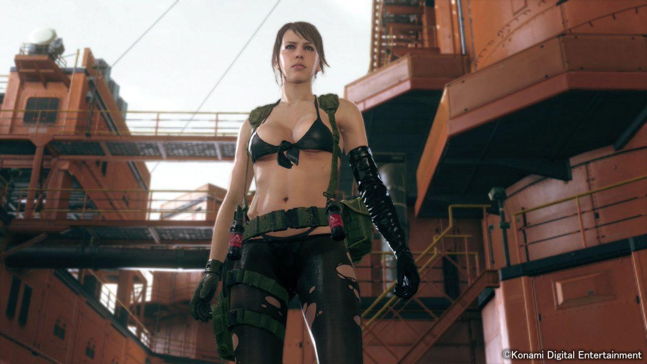 Jouez avec Quiet, la sniper de Metal Gear Solid V The Phantom Pain