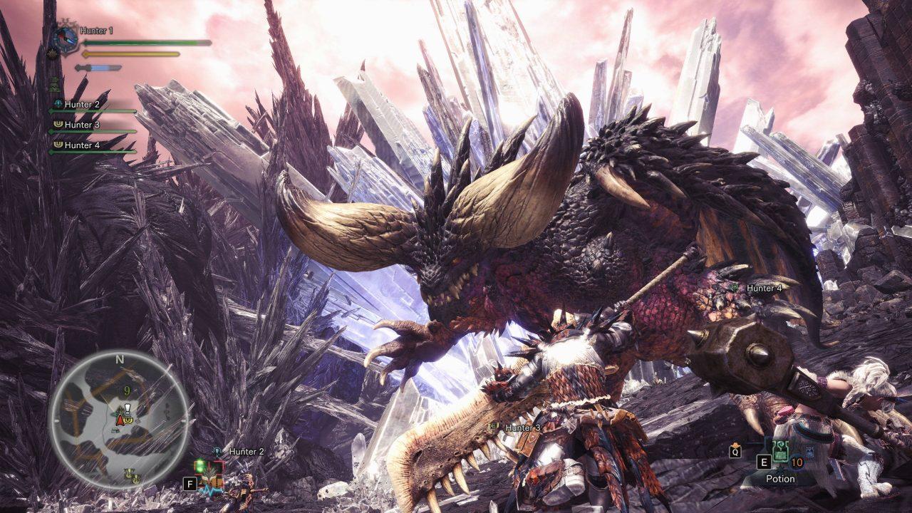 Monster Hunter World sur PC arrive dans un mois
