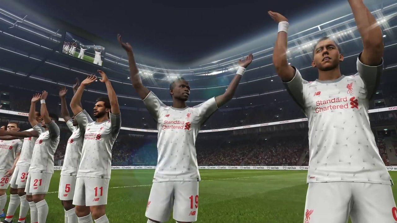 Le nouveau maillot de Liverpool FC dévoilé dans une vidéo de PES 2019