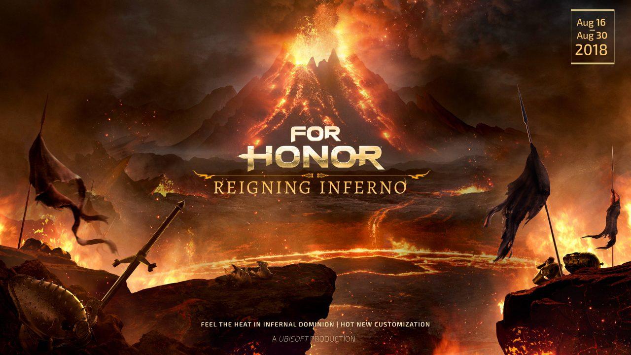 L'événement Brasier Souverain de la saison 7 de For Honor vient de débuter