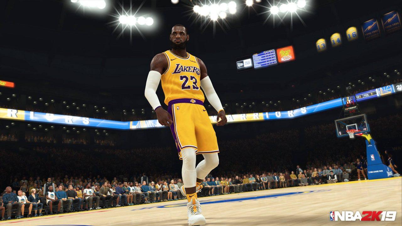 Des stars d'Hollywood pour le mode histoire de NBA 2K19