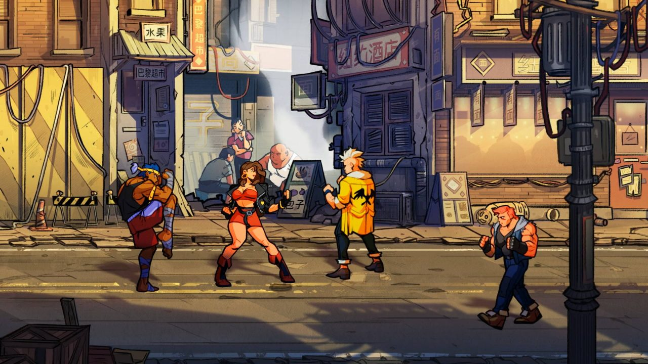Un petit making of pour Streets of Rage 4
