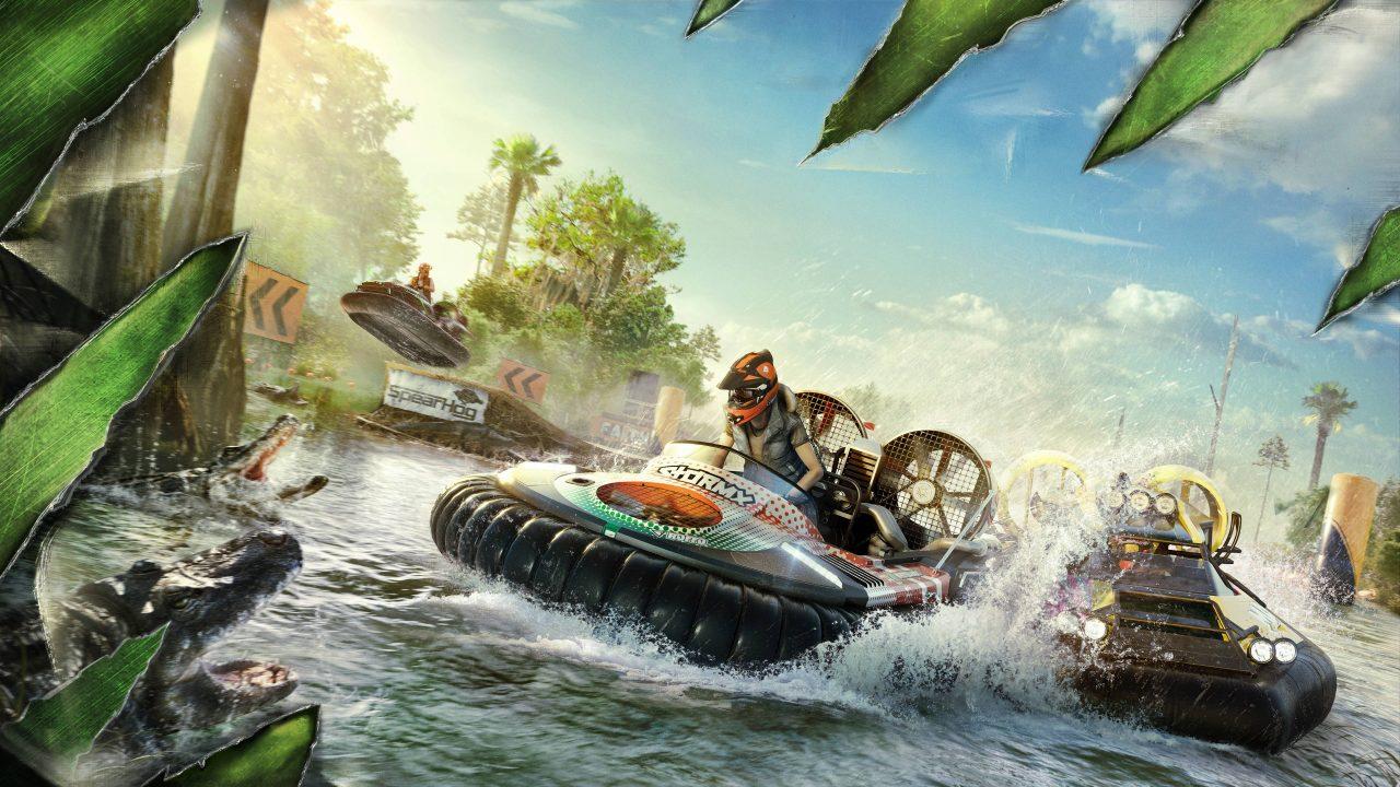 La première mise à jour gratuite de The Crew 2 arrive et se nomme Gator Rush