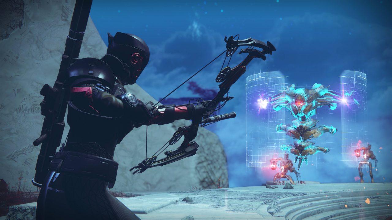 Comment ouvrir la quatrième serrure, la Serrure de l'Arsenal Sombre Ouverte, dans Destiny 2?