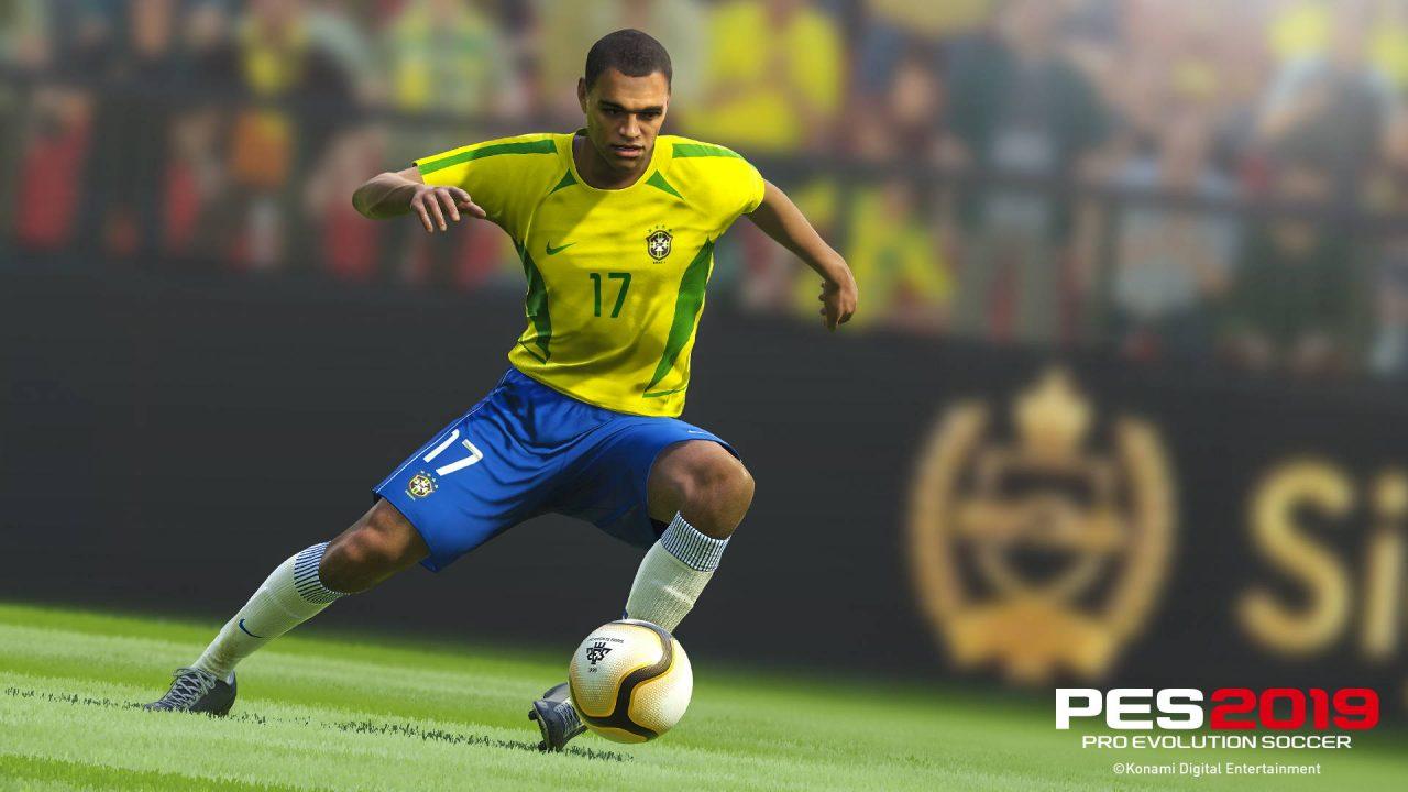 De nouveaux joueurs légendes arrivent sur PES 2019