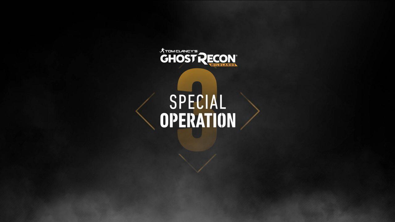 L'Opération Spéciale 3 de Ghost Recon Wildlands pour la semaine prochaine