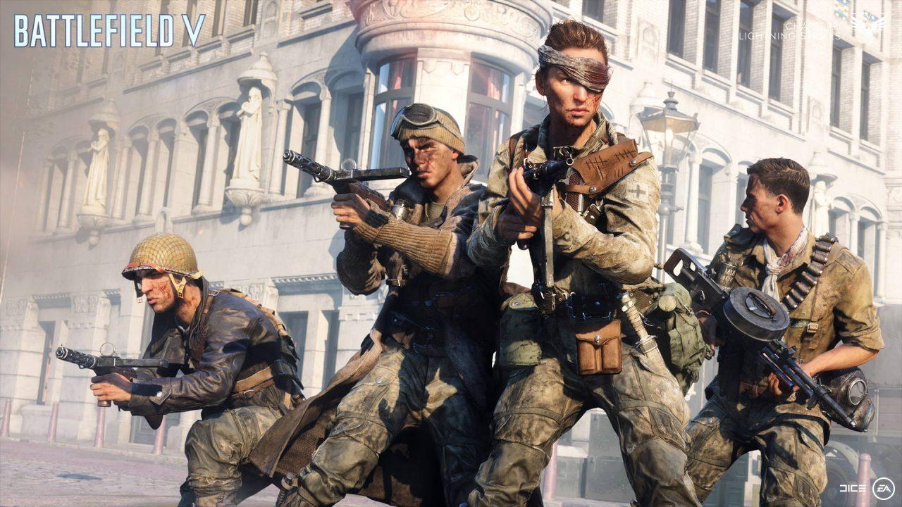 Une nouvelle mise à jour pour Battlefield V Chapitre 2 Coups de Foudre