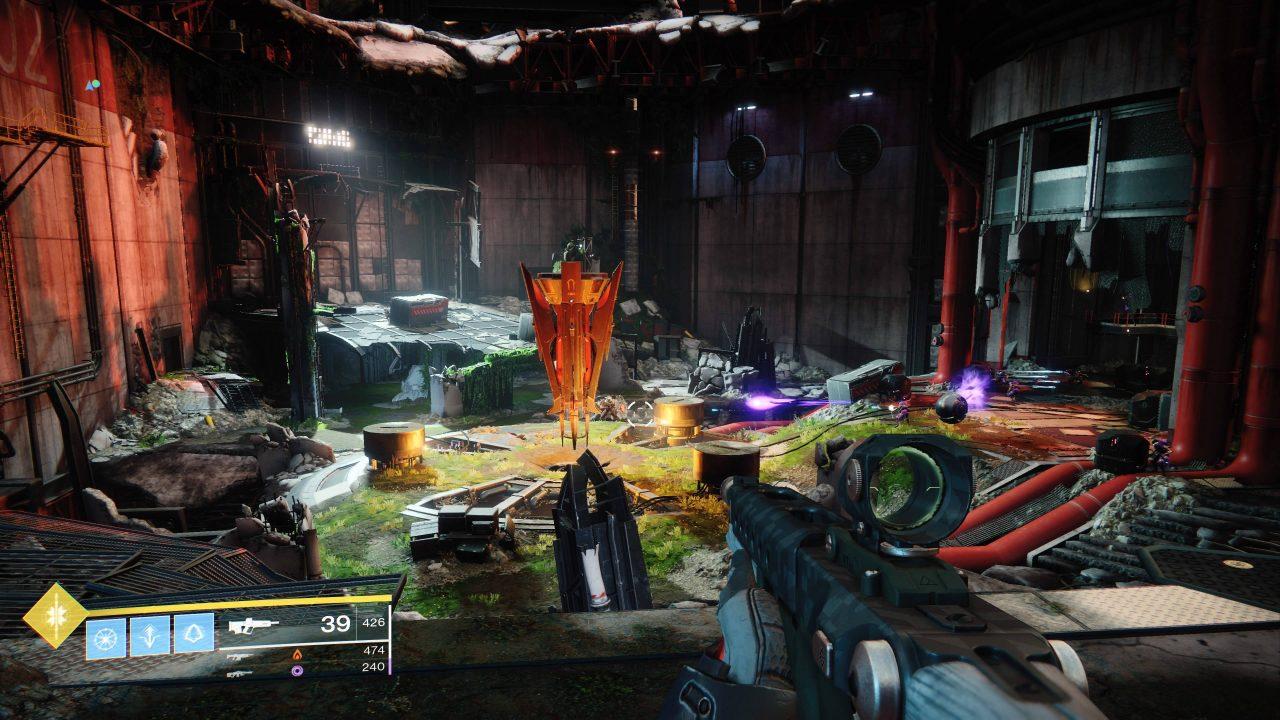 Comment accéder à la forge Bergusia sur Destiny 2 l'Arsenal Sombre ?