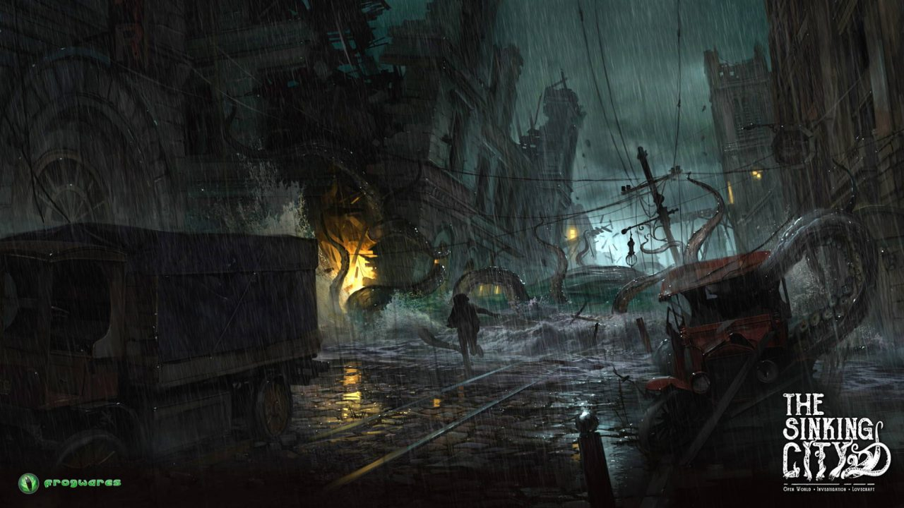 Du gameplay pour The Sinking City