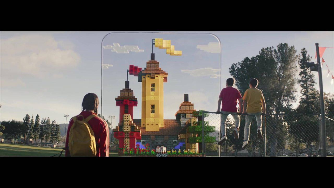 Microsoft annonce Minecraft Earth en réalité augmentée sur mobiles