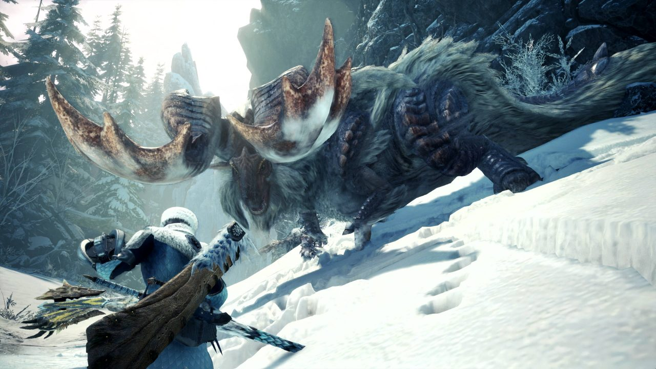 Iceborne, la prochaine extension de Monster Hunter World arrive à la rentrée