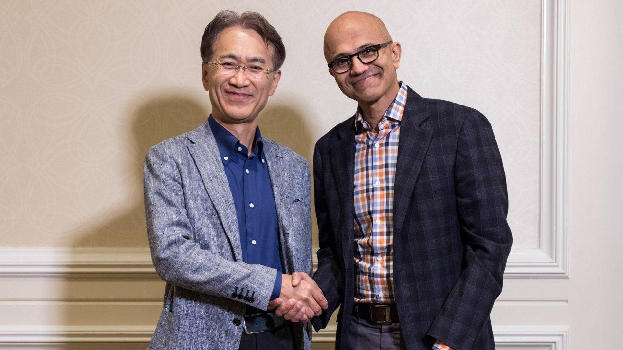 Sony et Microsoft main dans la main pour le cloud et l'IA