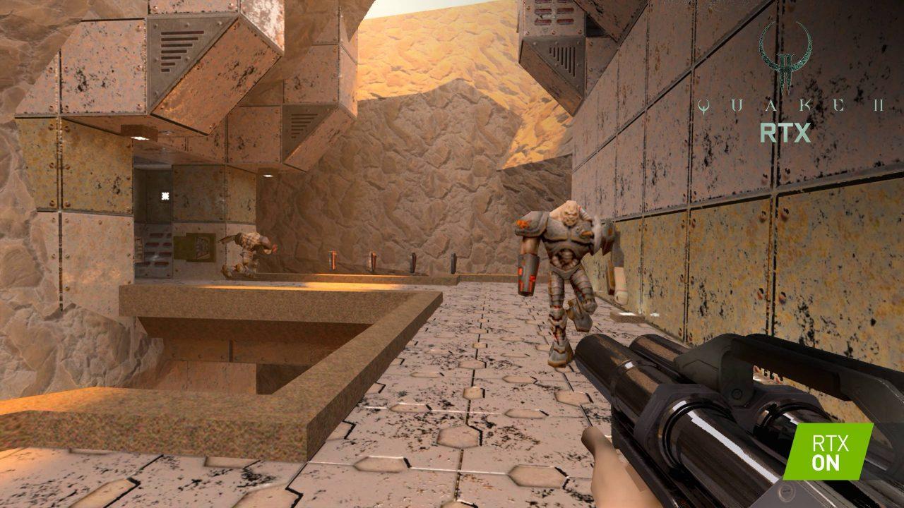 Quake II en raytracing et gratuit prochainement chez Nvidia