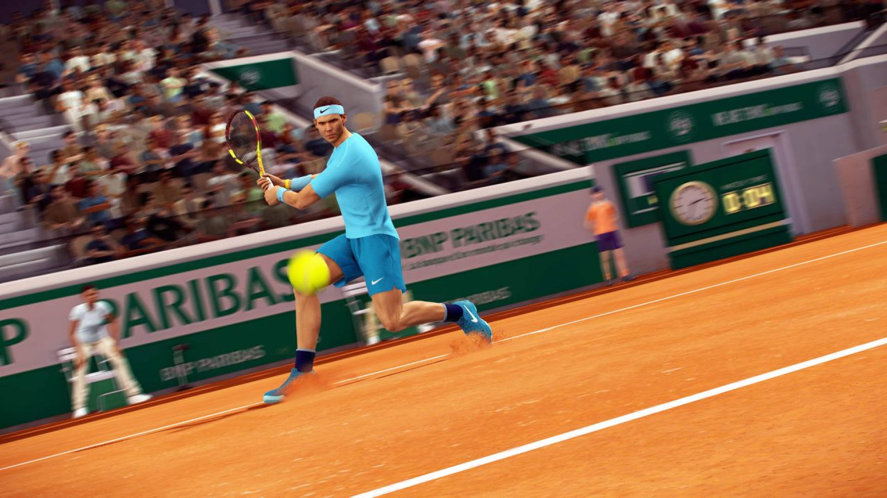 Rafa sera dans Tennis World Tour Roland Garros Edition