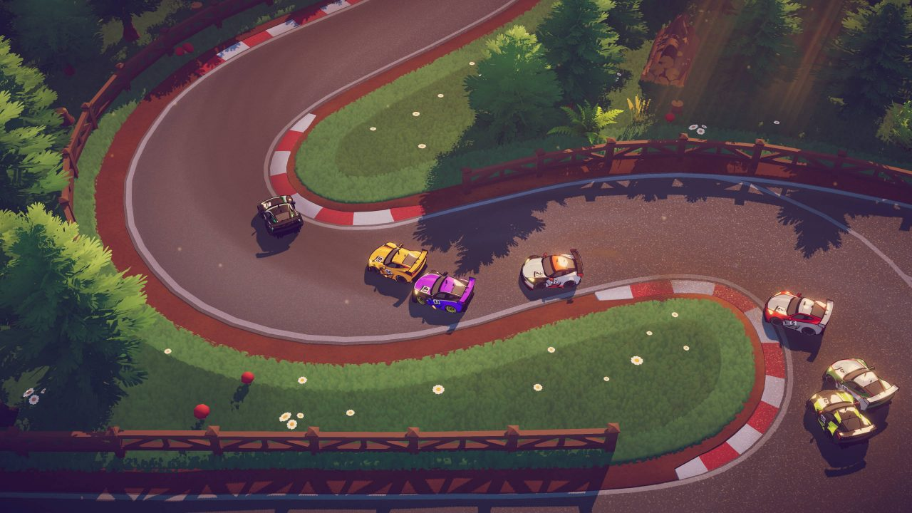 E3 2019 – Square Enix pousse un jeu de course old school, Circuit Superstars