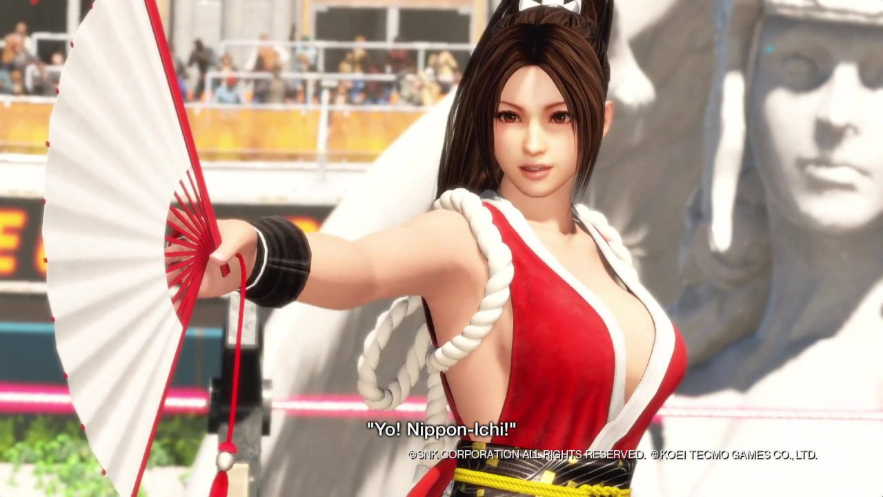 2 combattantes de King of Fighters dans Dead or Alive 6