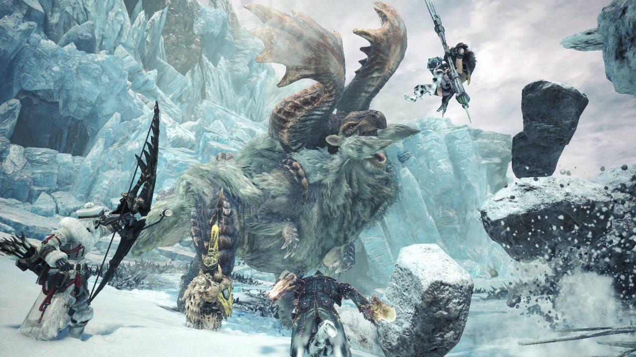 Monster Hunter World Iceborne arrive à la rentrée