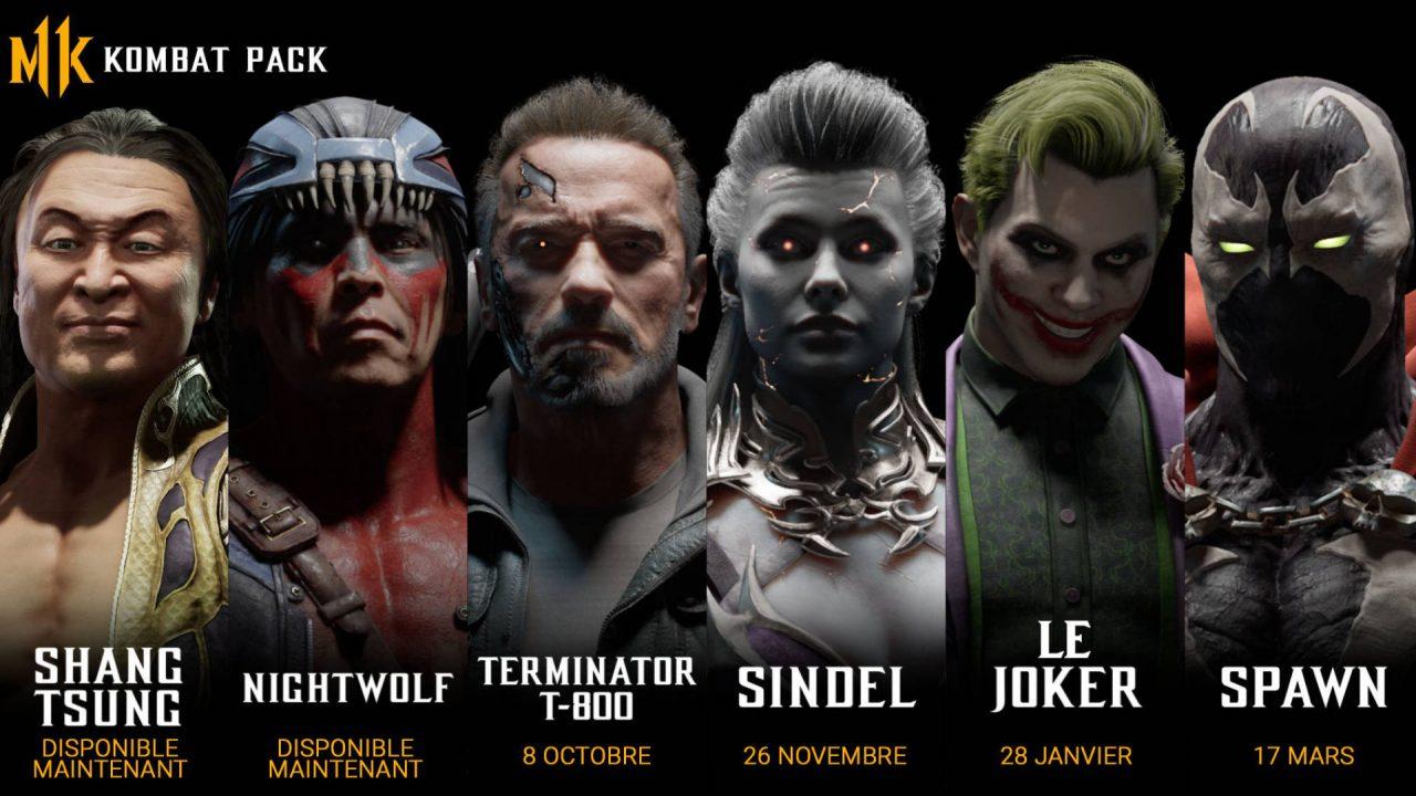 GC 2019 – Quelques célébrités arrivent sur Mortal Kombat 11