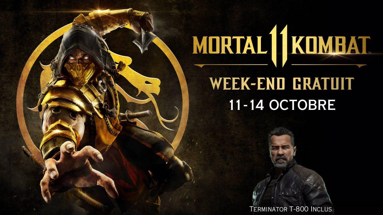 Mortal Kombat 11 en essai gratuit ce week-end
