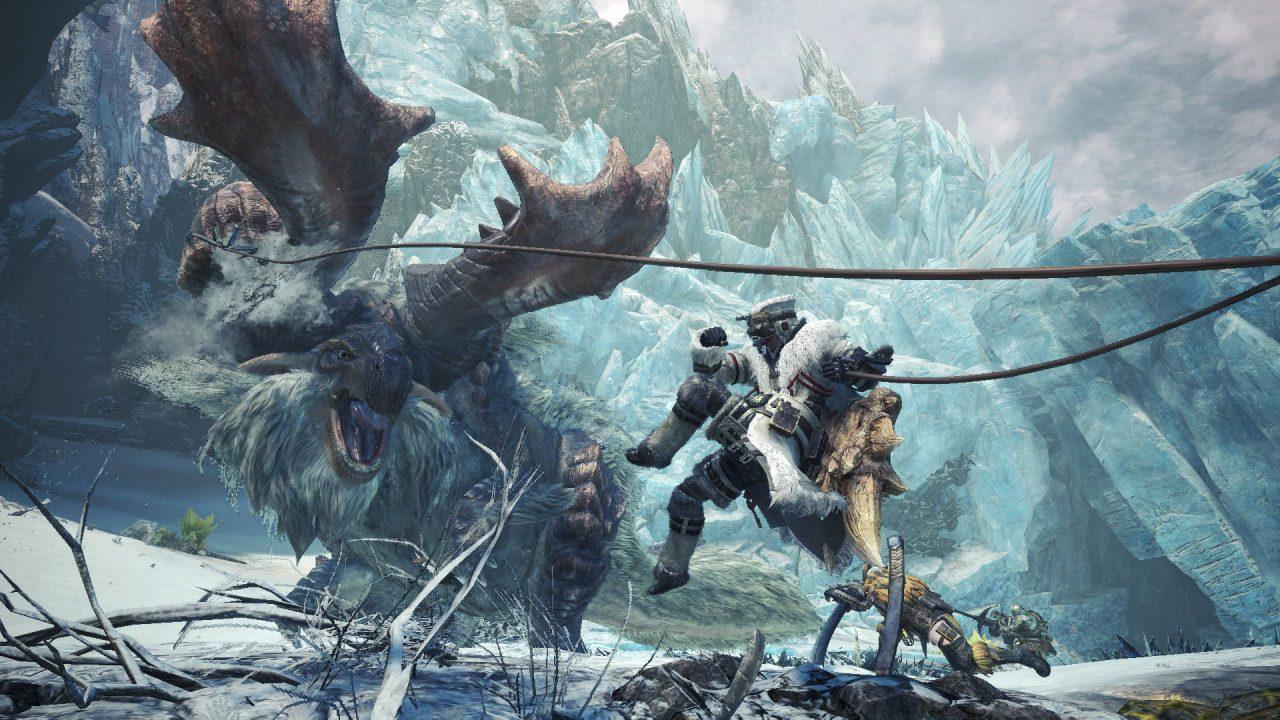 Les informations pour la version PC de Monster Hunter World Iceborne