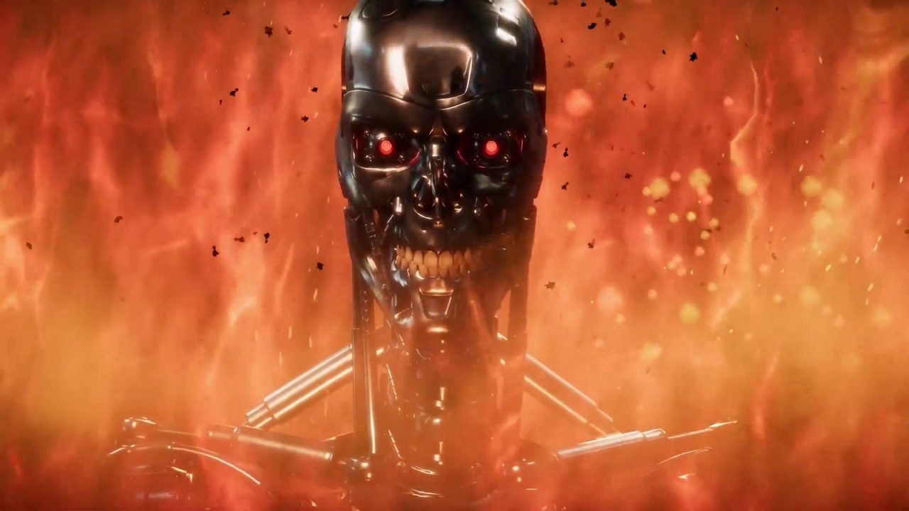 Le Terminator T-800 dans Mortal Kombat 11