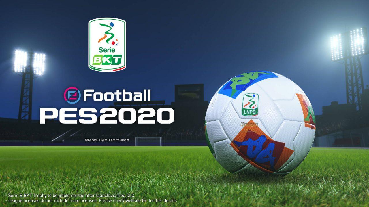 La seconde division italienne bientôt sur eFootball PES 2020