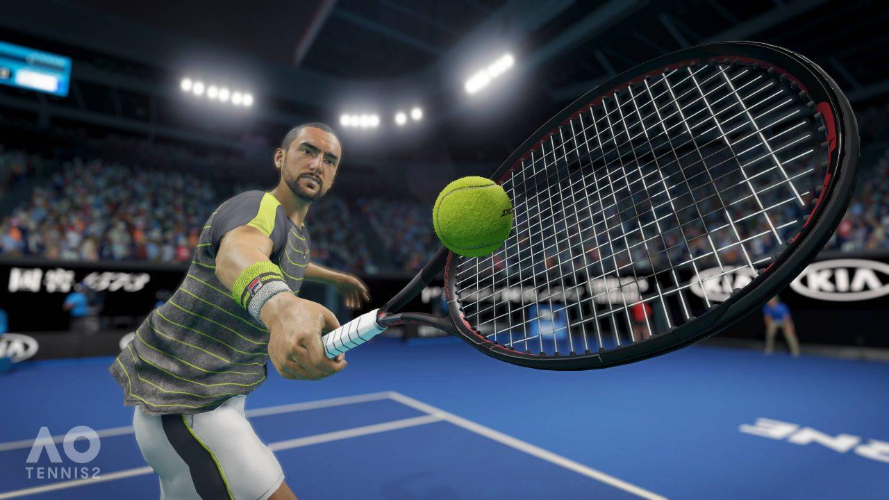Il y aura un mode histoire dans AO Tennis 2