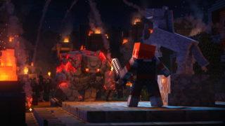 Enfin une date de sortie pour Minecraft Dungeons