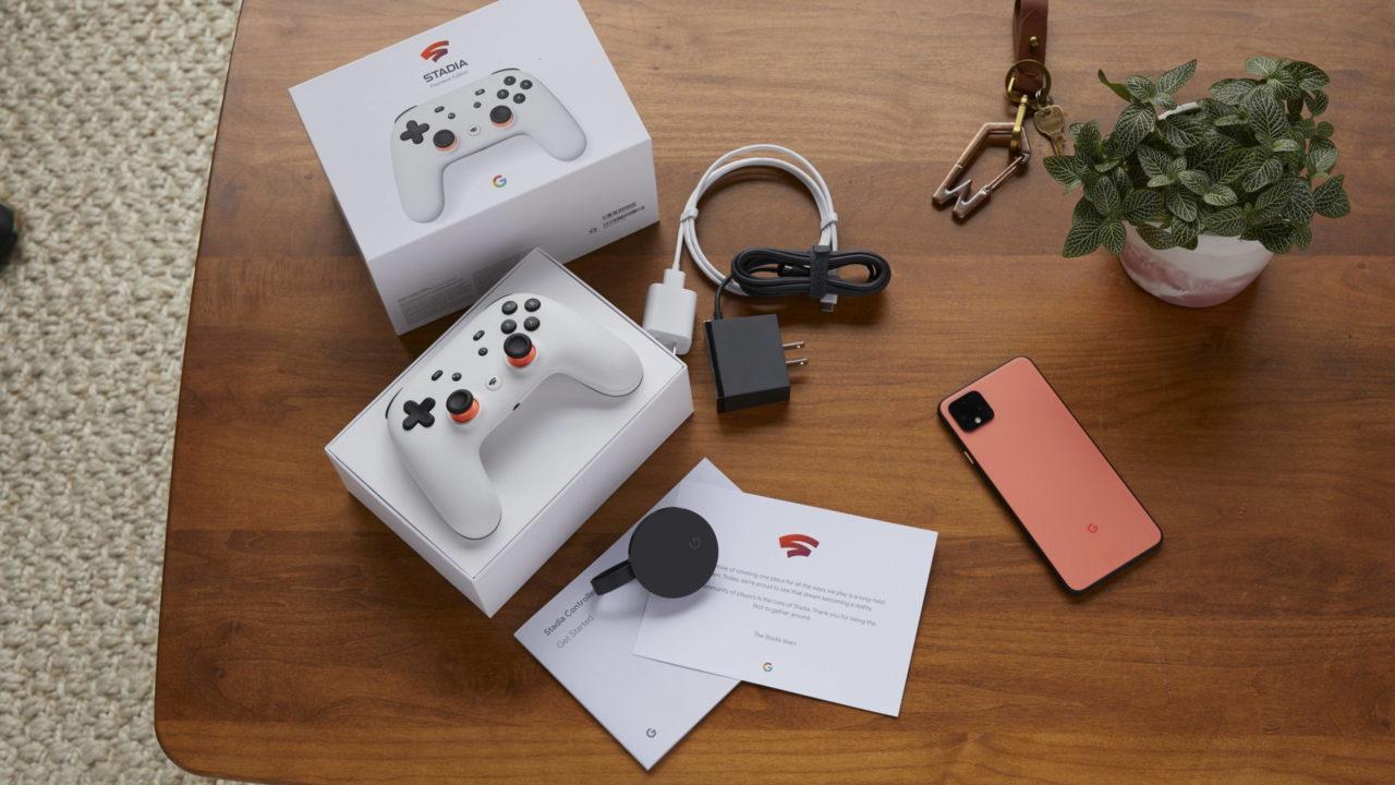Stadia – De nouveaux smartphones compatibles