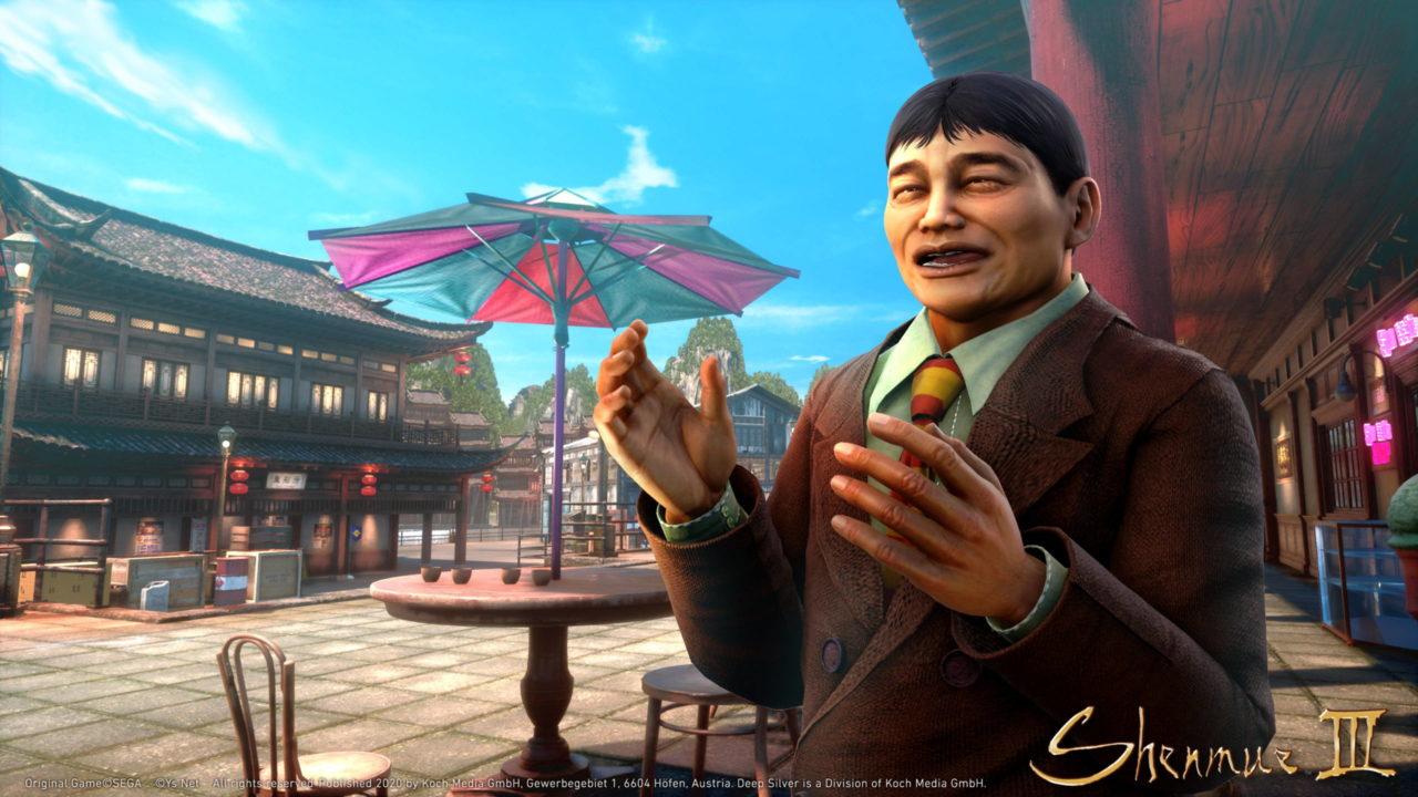 Le second DLC de Shenmue III disponible la semaine prochaine
