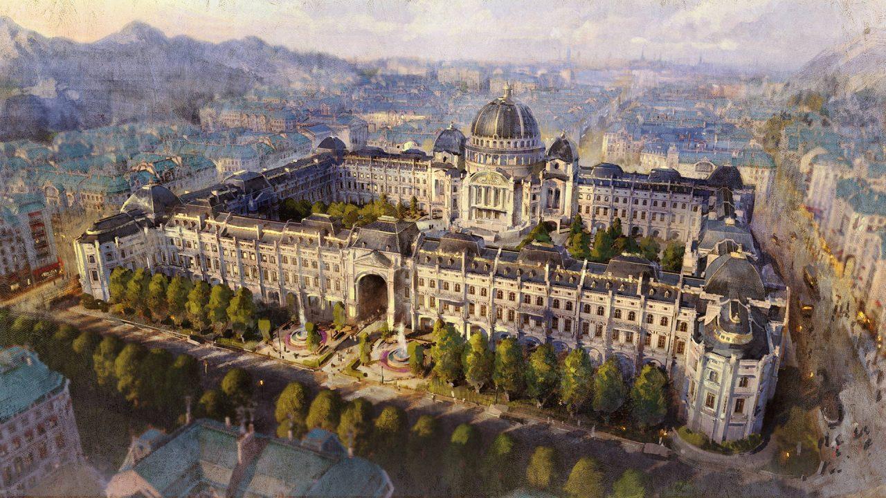 Le Capitole est le nouveau DLC d'Anno 1800