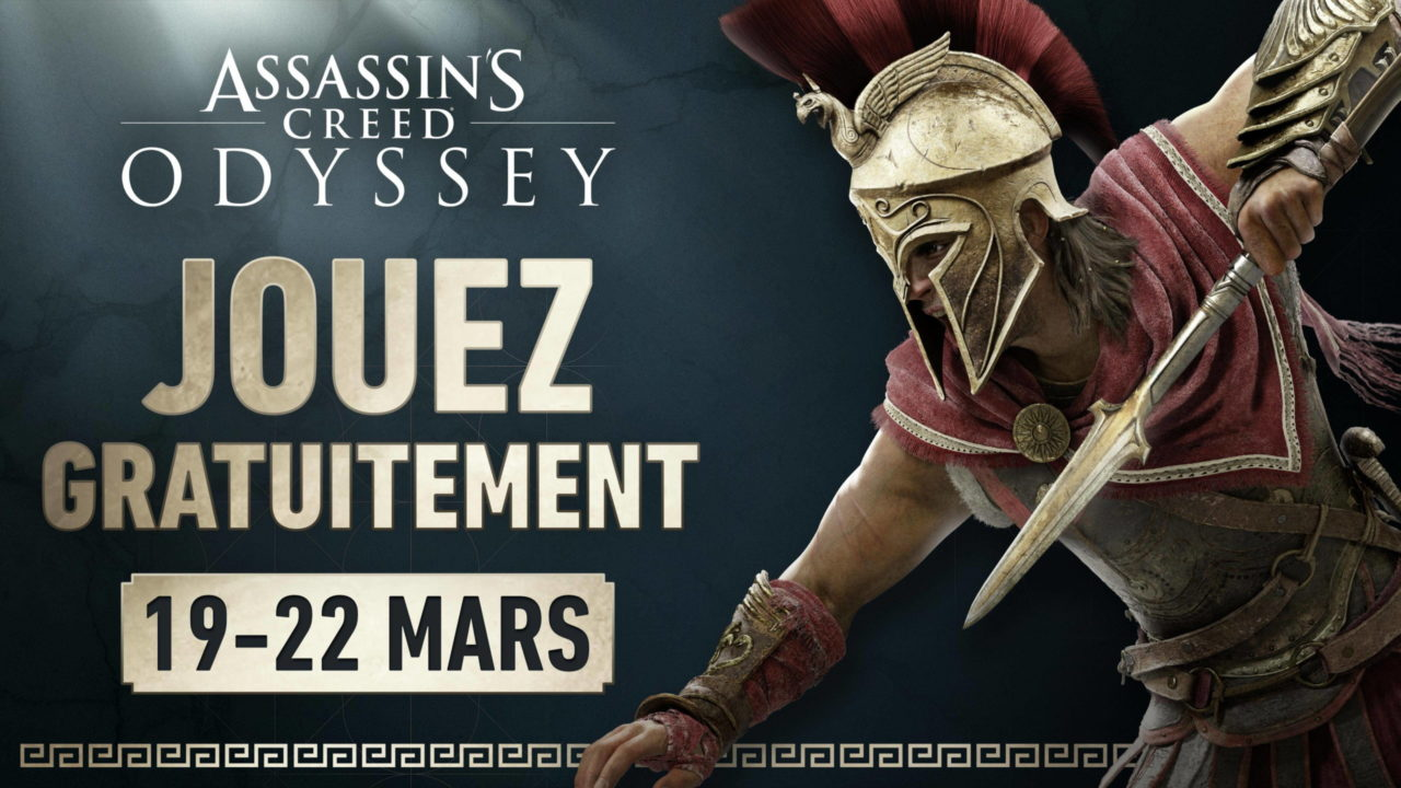 Assassin's Creed Odyssey gratuit ce week-end
